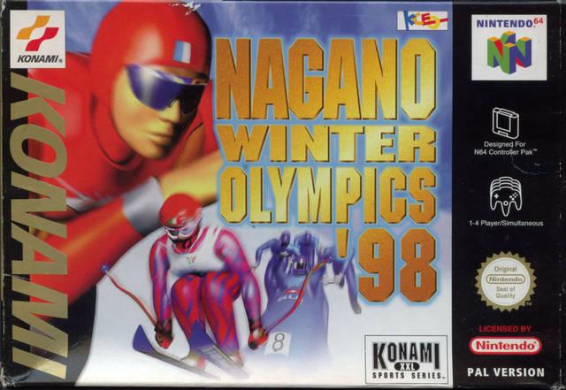 Nagano Winter Olympics 98 portada de Nintendo 64