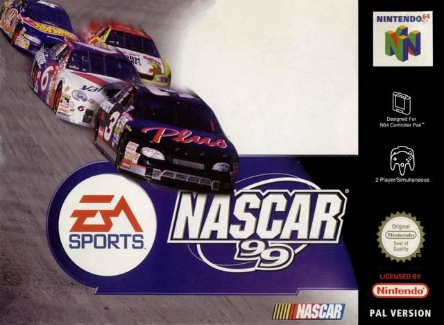 NASCAR 99 portada de Nintendo 64