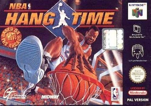 NBA Hangtime portada de Nintendo 64