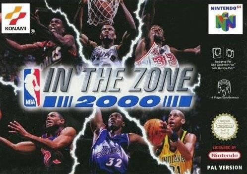 NBA In The Zone 2000 Nintendo 64