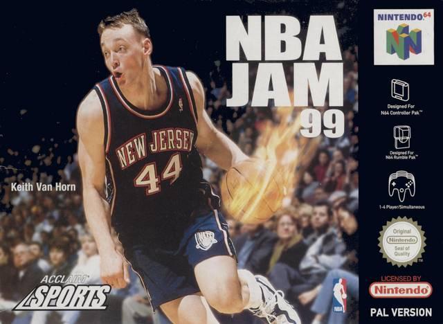 NBA Jam 99 portada de Nintendo 64