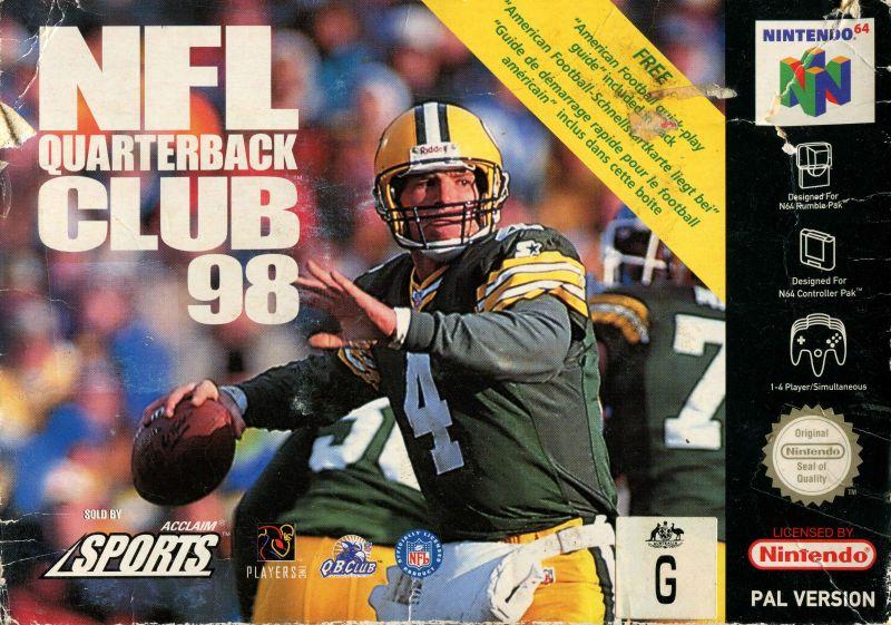 nfl-quarterback-club-98 Nintendo 64