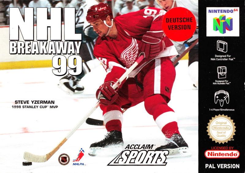 NHL breakaway-99 Nintendo 64