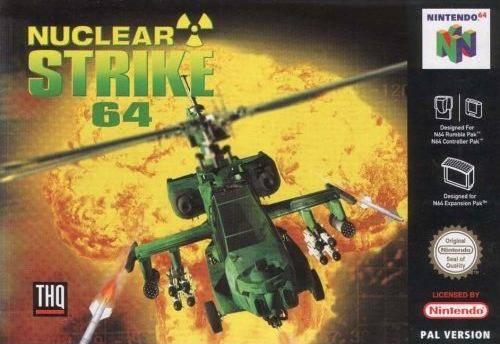 Nuclear Strike 64 Nintendo 64