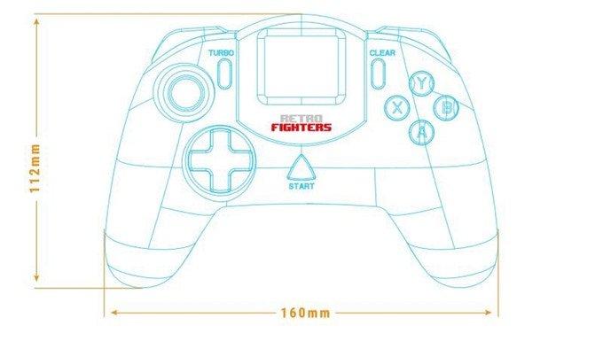 Nuevo mando para Sega Dreamcast