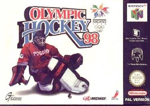 Olympic Hockey 98 Nintendo 64