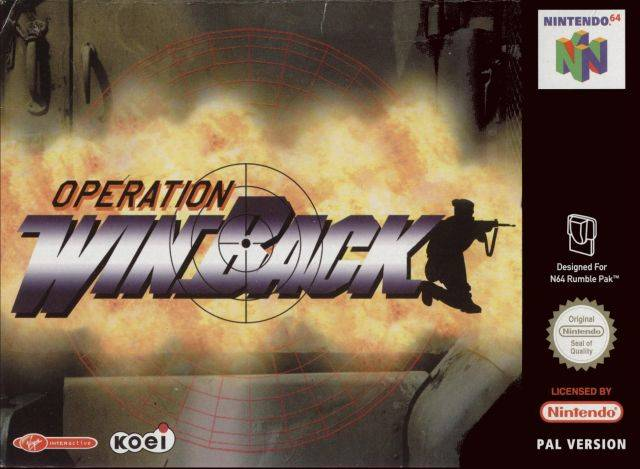 Operation WinBack Nintendo 64