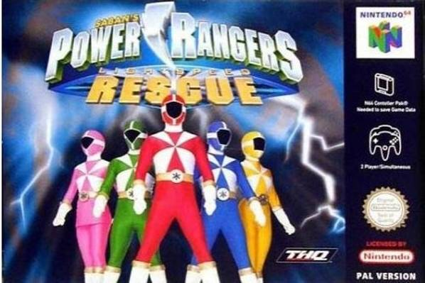 Power Rangers Lightspeed Rescue Nintendo 64