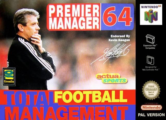 Premier Manager 64 Nintendo 64