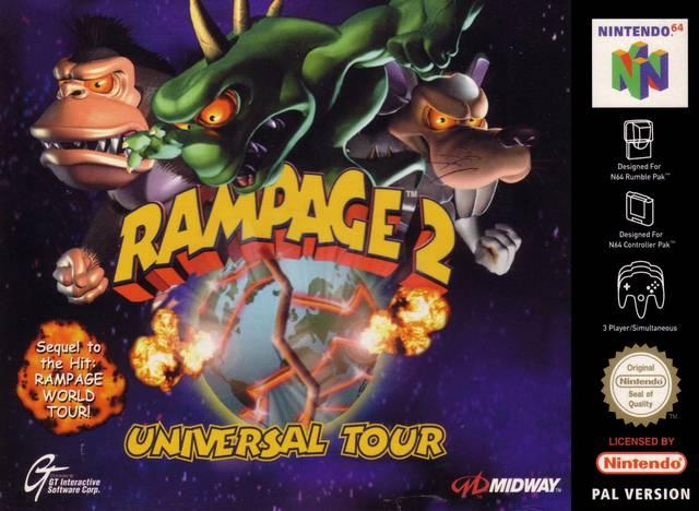 Rampage 2 - Universal Tour- Nintendo 64