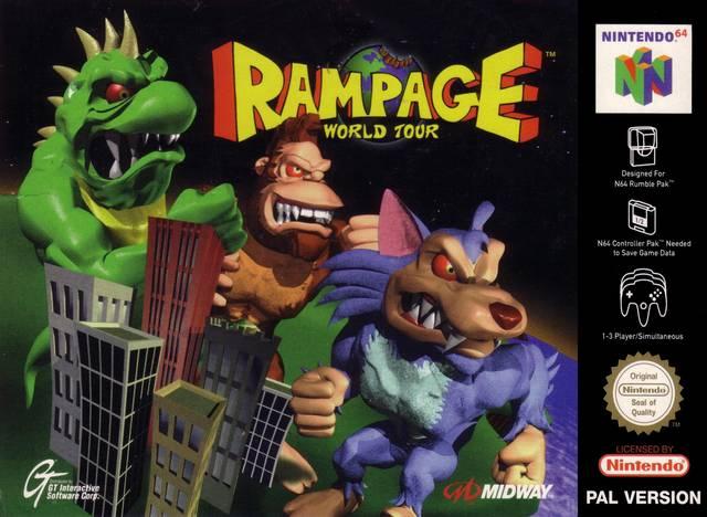 Rampage - World Tour Nintendo 64