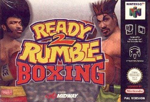 Ready 2 Rumble Boxing portada de Nintendo 64