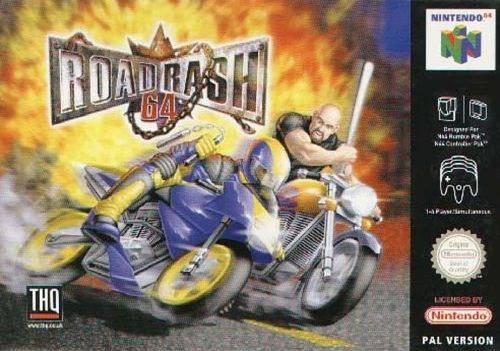 Road Rash 64 portada de Nintendo 64