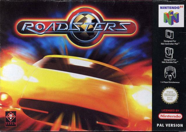 Roadsters portada de Nintendo 64