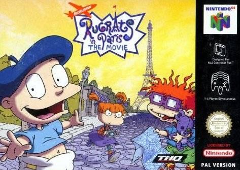 Rugrats in Paris - The Movie portada de Nintendo 64
