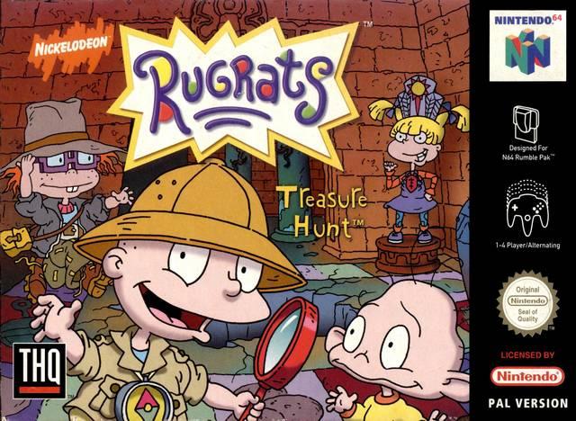 Rugrats - Treasure Hunt portada de Nintendo 64