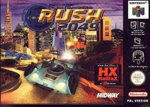 San Francisco Rush 2049 Nintendo 64