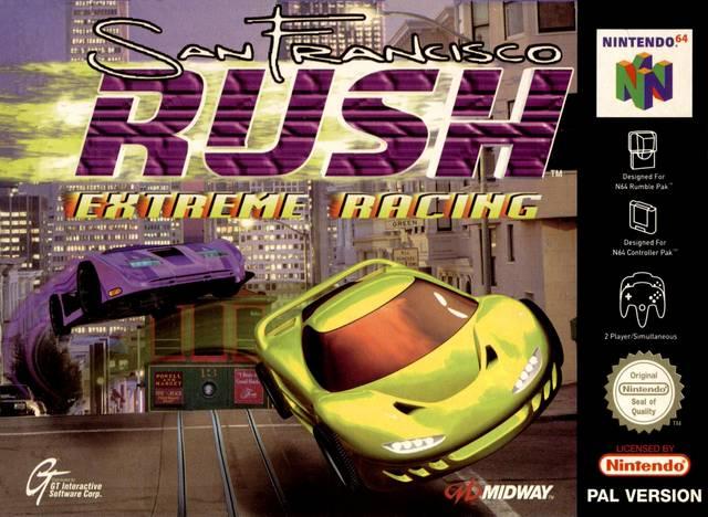 San Francisco Rush - Extreme Racing portada de Nintendo 64