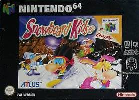 Snowboard Kids portada de Nintendo 64