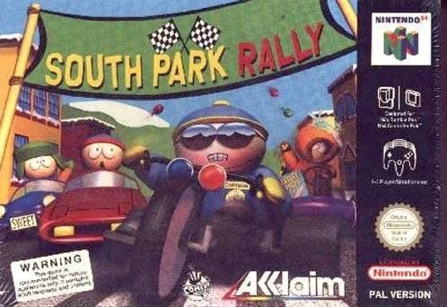 South Park Rally portada de Nintendo 64