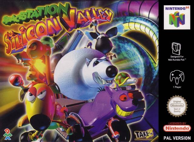 Space Station Silicon Valley portada de Nintendo 64