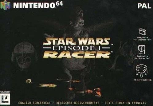 Star Wars Episode I - Racer portada de Nintendo 64