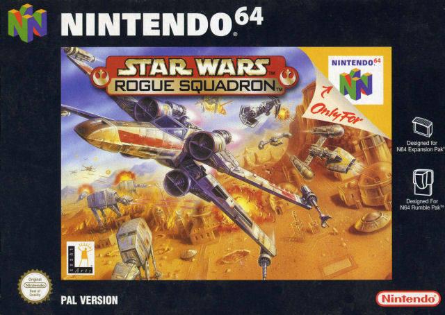 Star Wars - Rogue Squadron portada de Nintendo 64