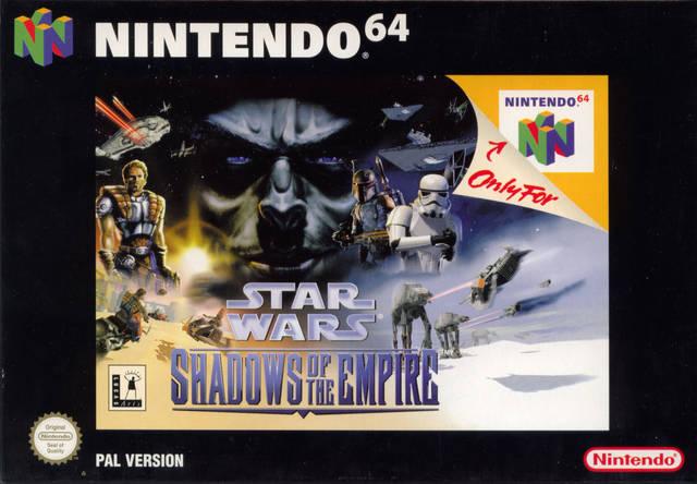 Star Wars - Shadows of the Empire portada de Nintendo 64