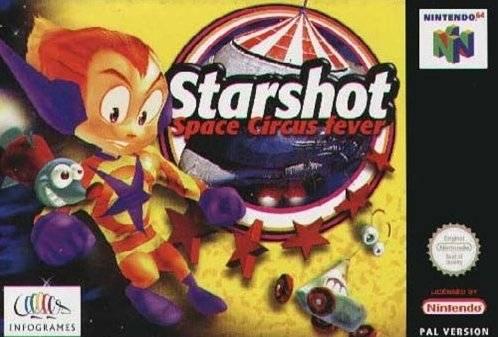 Starshot - Space Circus Fever Nintendo 64