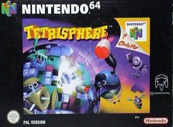 Tetrisphere portada de Nintendo 64