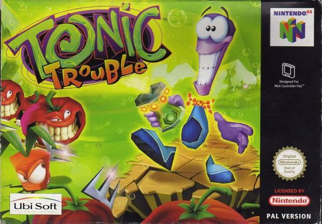 Tonic Trouble Nintendo 64