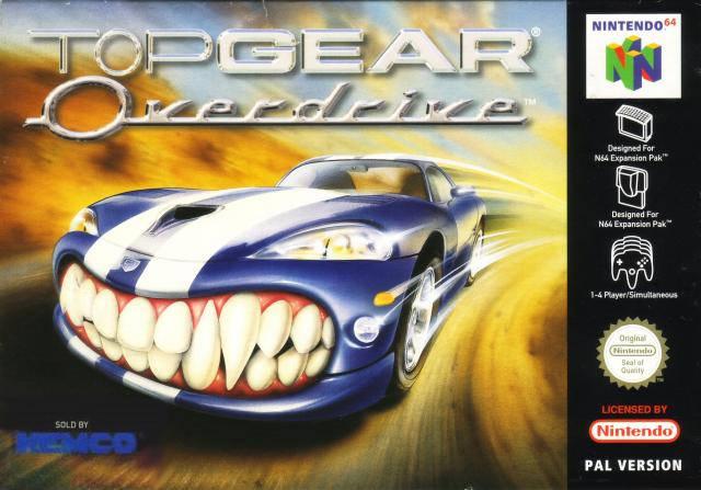 Top Gear OverDrive portada de Nintendo 64