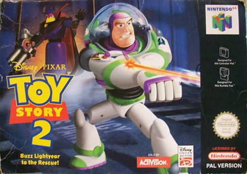 Toy Story 2 - Buzz Lightyear to the Rescue Nintendo 64