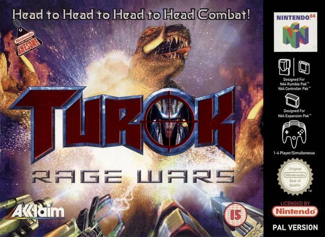 Turok - Rage Wars portada de Nintendo 64