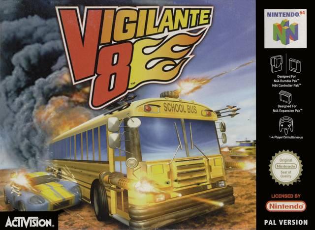 Vigilante 8 portada de Nintendo 64