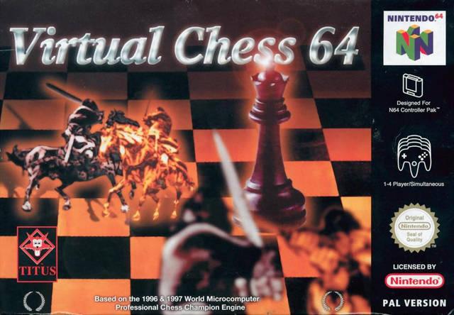 Virtual Chess 64 portada de Nintendo 64