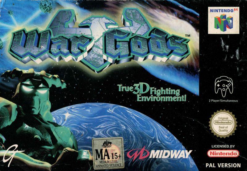 WAr Gods Nintendo 64