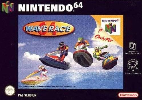 Wave Race 64 portada de Nintendo 64