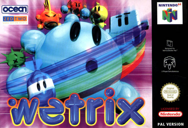 Wetrix portada de Nintendo 64