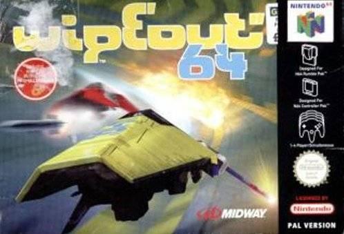 WipEout 64 portada de Nintendo 64