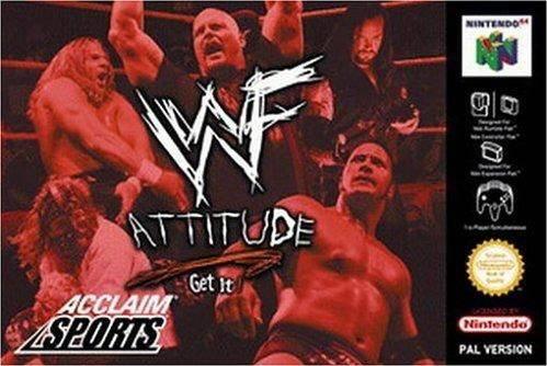 WWF Attitude portada de Nintendo 64