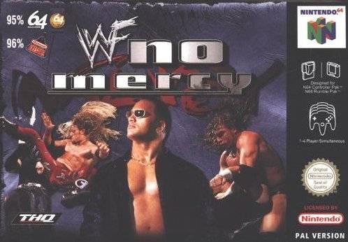 WWF No Mercy portada de Nintendo 64
