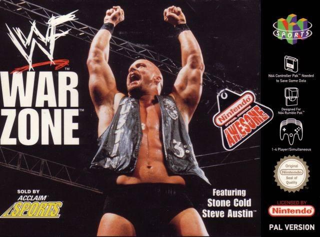 WWF War Zone portada de Nintendo 64