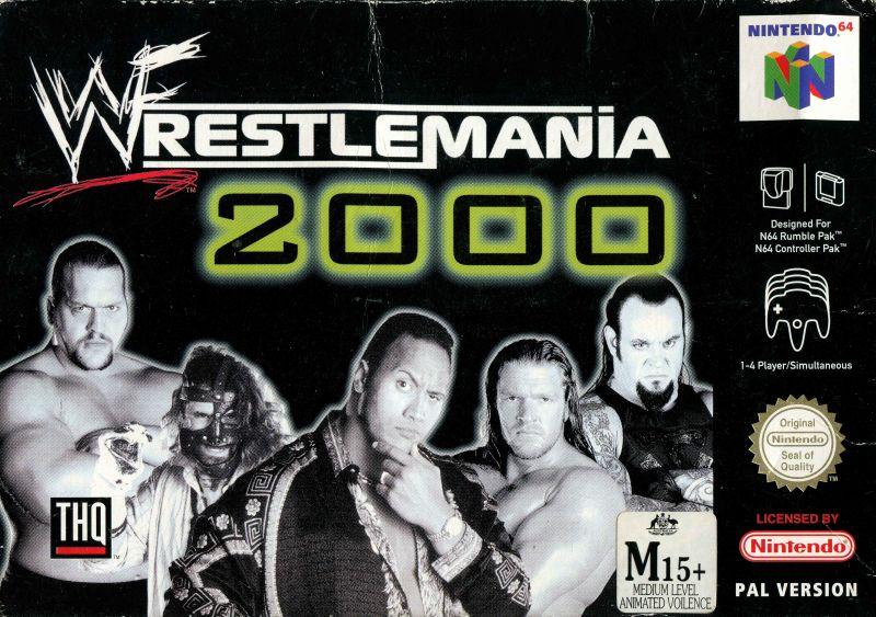 Wwf-wrestlemania-2000 portada de Nintendo 64