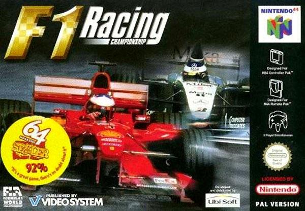F1 Racing Championship carátula de Nintendo 64
