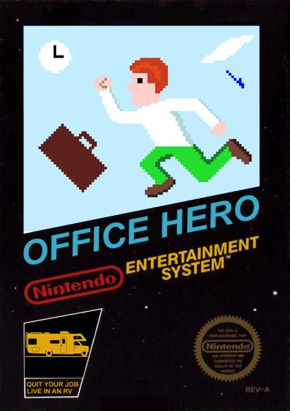 Office Hero NES Portada