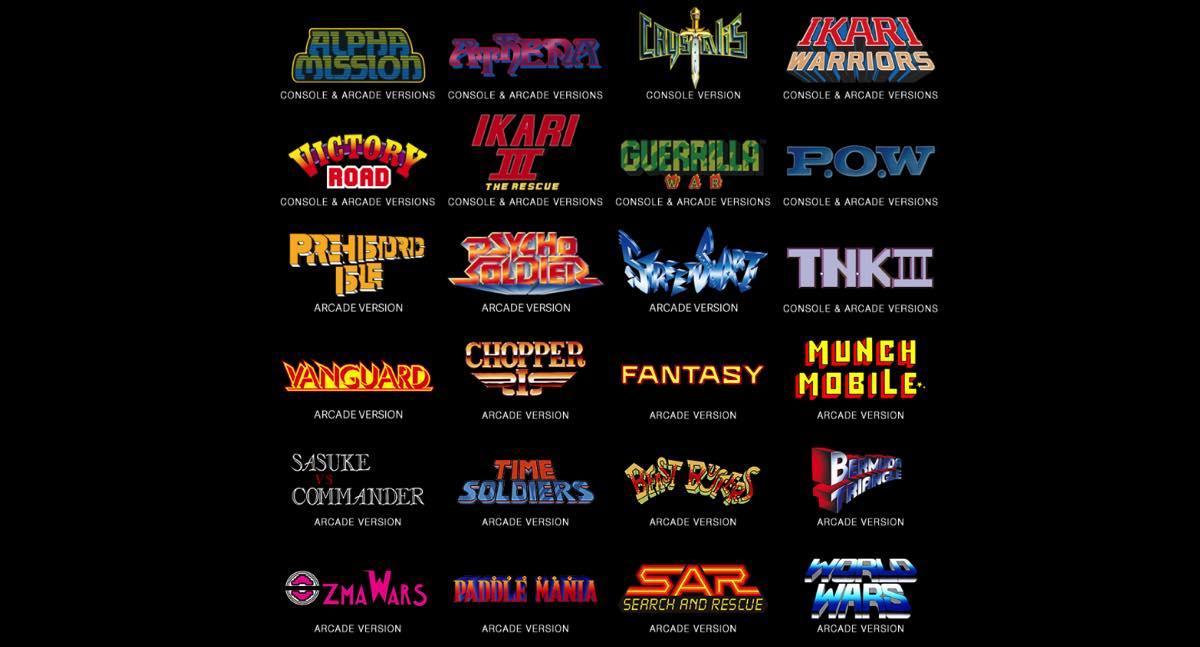 SNK Collection 40 aniversario PS4