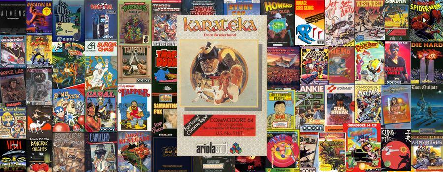 Karateka para Commodore 64