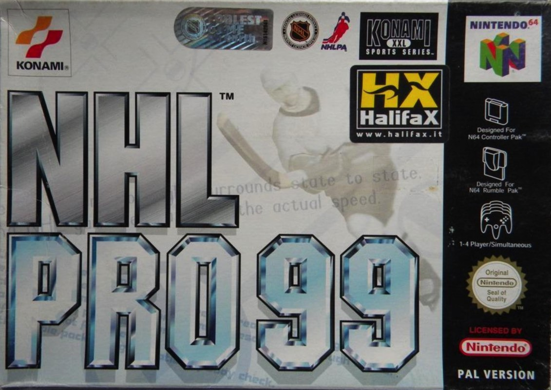 nhl-pro-99 Nintendo 64