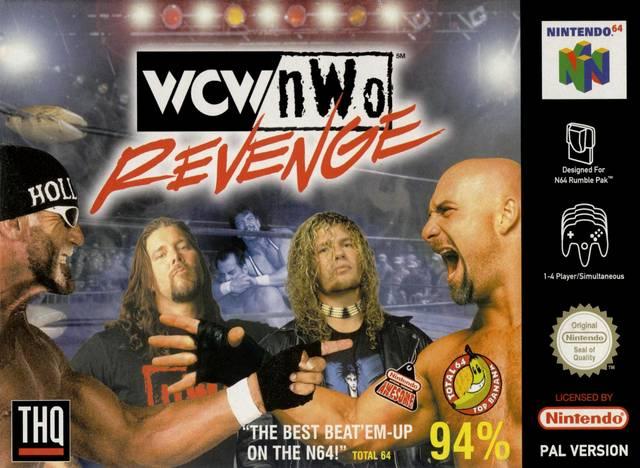 WCW-NWO Revenge portada de Nintendo 64